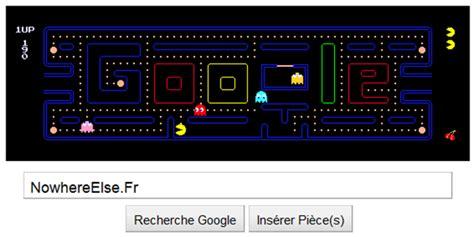 doodle jeux pacman logo pacman doodle 21 mai 2010