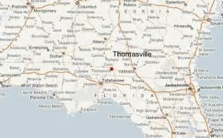 thomasville map thomasville map map