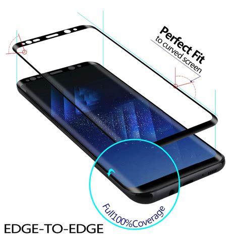 Tempered Glass 3d Samsung S8 samsung galaxy s8 gex 3d tempered glass glue screen