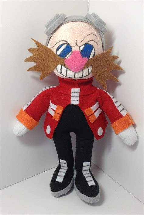 Hoodie Eggman Sonic 11 dr eggman plushie sonic the hedgehog by indigoburulove on deviantart