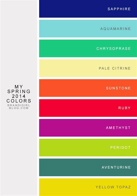 pretty color names my 2014 color combos brandi color