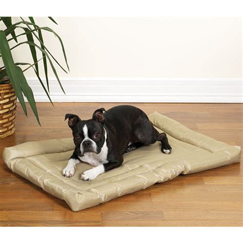 slumber up bed slumber pet water resistant dog bed tan with same day