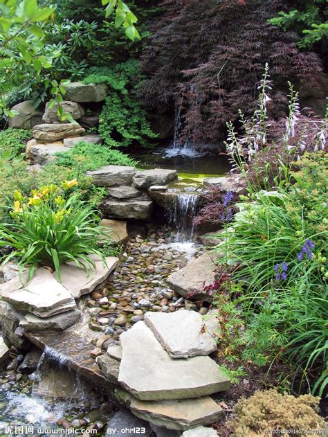 Waterfall Ponds Backyard 25 Unique Garden Waterfall Ideas On Pinterest Backyard