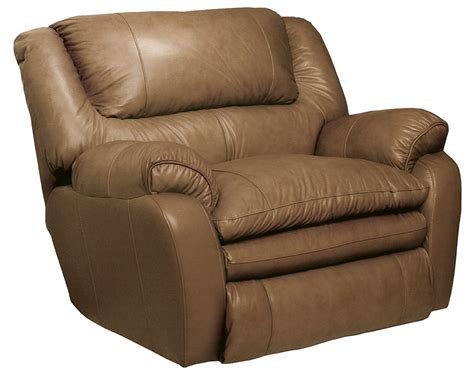 cuddler recliner chair catnapper allegro leather cuddler recliner mushroom cn