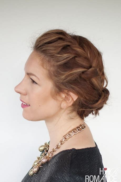 casual hairstyles for thick hair casual updos for thick hair
