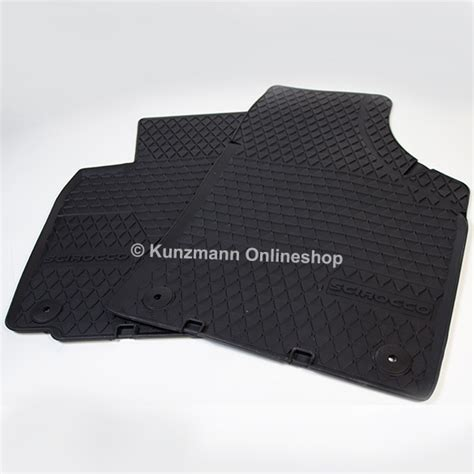 Scirocco Car Mats by Volkswagen Car Rubber Floor Mats Vw Scirocco Original