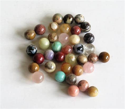 Handmade Marbles - 19th century solitaire marble board 37 early