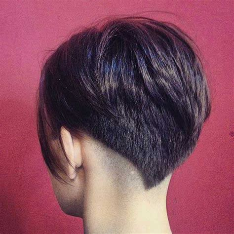 pixie haircuts women thick hair front and back view of same stacked haircuts for women over 40 hairstyle galleries