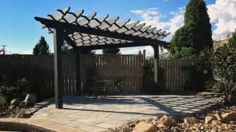 3 Post Pergola by Cedar Pergolas Valleyview Lumber
