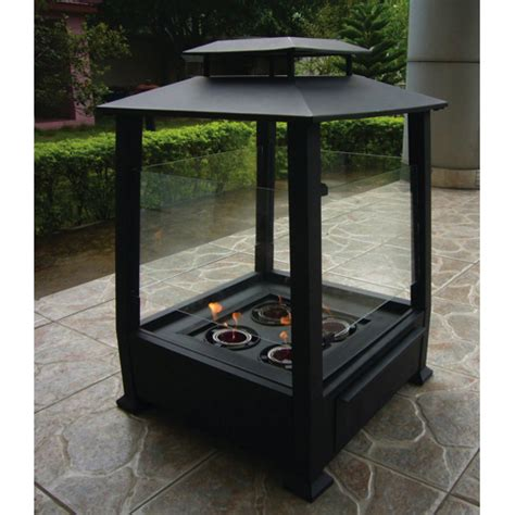 Outdoor Gel Fireplace by Paramount Pagoda Gel Fuel Outdoor Fireplace Pf 1010