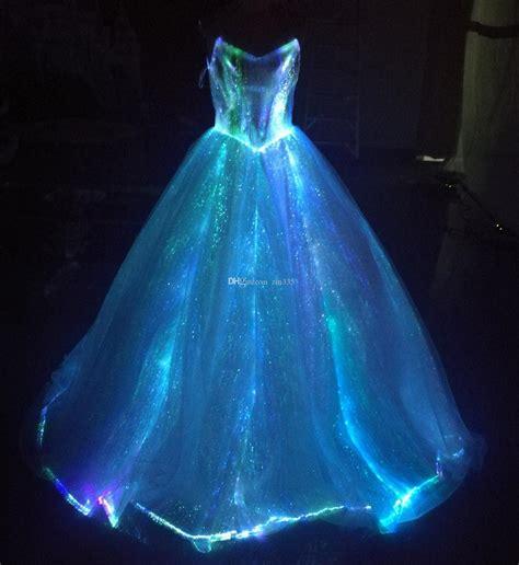 light up dress discount fiber optic light up a line spaghetti