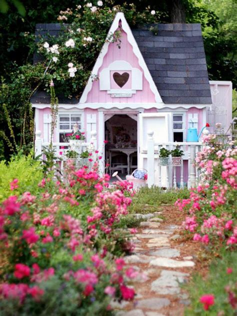doll house shed she sheds are a thing and we had to check them out decorating home living