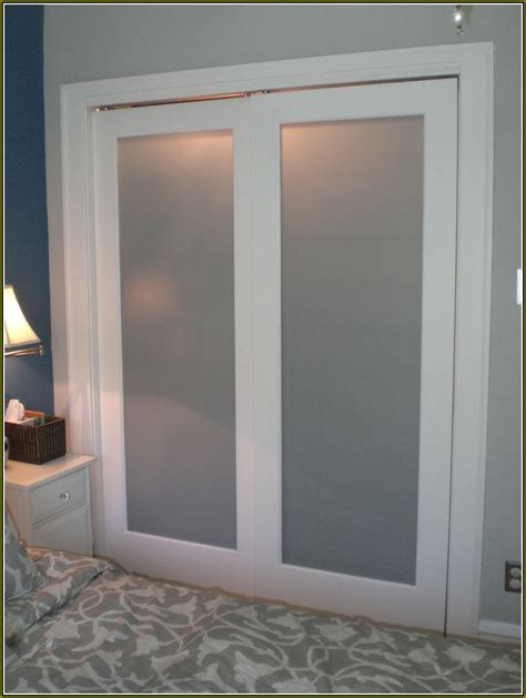 bedroom doors with frosted glass frosted glass closet doors lowes house paint exterior