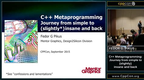 template metaprogramming c metaprogramming journey from simple to insanity and