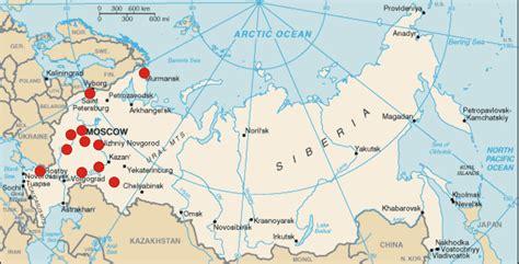 maps murmansk russia euroscience local section in russia portal