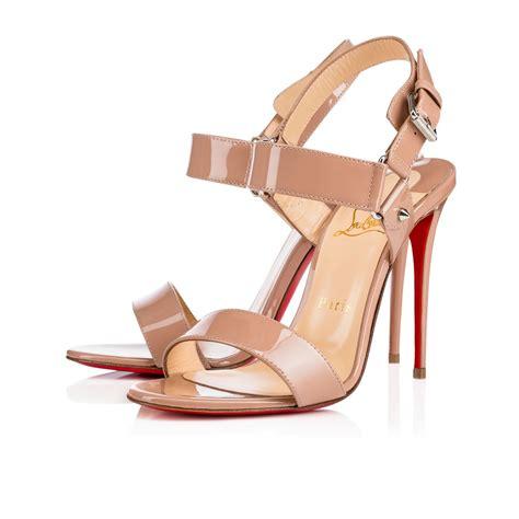 christian louboutin s sova heel sandals where to