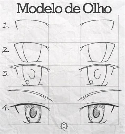 faa os detalhes de boca e olhos com a caneta permanente preta e olhos de anime como desenhar seu guia passo a passo