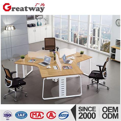3 computer desk t shaped 3 person computer steek workstation frame office