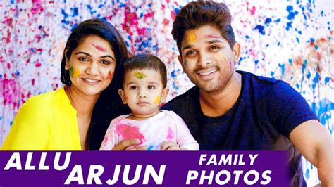 allu arjun rare photos with his family allu arjun rare photos with his family youtube
