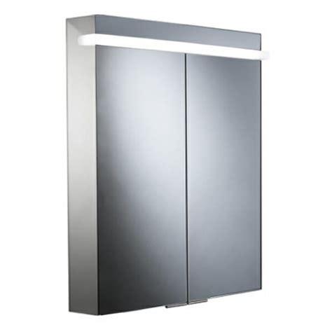 laura aluminium backlit mirrored bathroom cabinet illuminated mirrors cabinets roper rhodes ritual 680mm led illuminated aluminium mirror