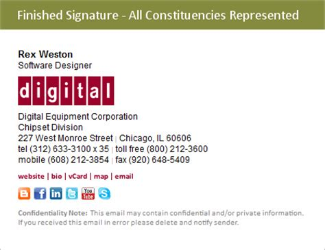 corporate email signature template evercontact s dissecting an email signature