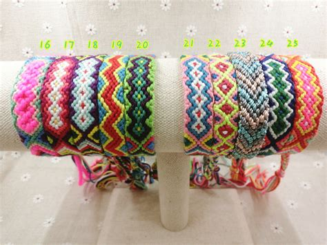 Handmade Yarn Bracelets - handmade friendship wrap 16 30 cotton friendship bracelet