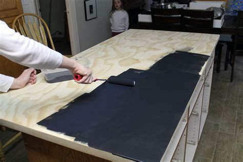 Chalk Paint On Laminate Countertops by Diy Faux Soapstone Countertop Chris