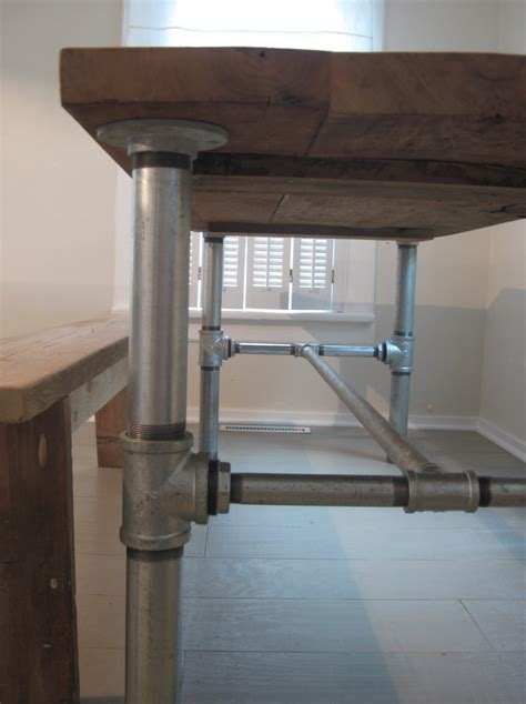 Kitchen Table Base Table Bases Based Tutorials Tables Based Kitchens Tables Farmhouse Tables Industrial Pipes