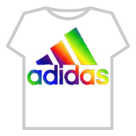 adidas logo (rainbow) roblox