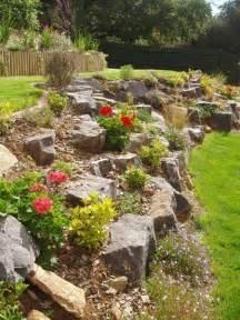 backyard landscaping inspiring design ideas for a hill