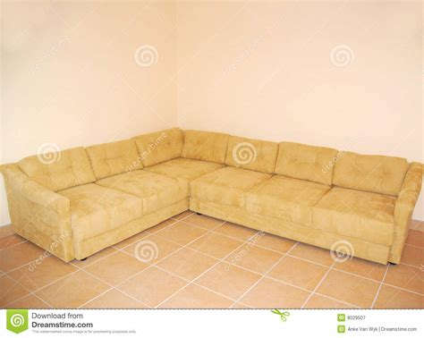 empty couch couch in empty room royalty free stock photography image