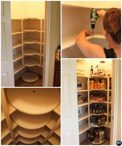 Lazy Susan For Pantry Closet by Diy Rotating Lazy Susan Tutorials Home Organization