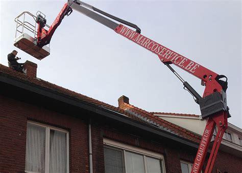 schouw herstellen opvoegen van schoorsteen schoorsteenveegservice