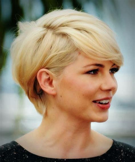 rambut pendek terkini model potongan rambut pendek untuk wajah bulat