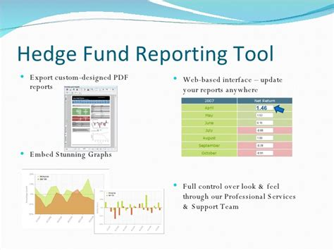 Hedge Fund Calculator Presentation Hedge Fund Presentation Template