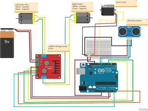 obstacle avoider robot  arduino notespoint