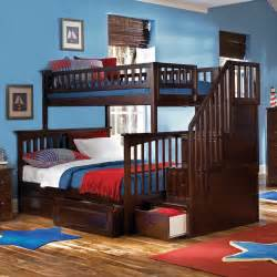 Boys Futon Bedroom Cheap Bunk Beds With Stairs Cool Bunk Beds For 4