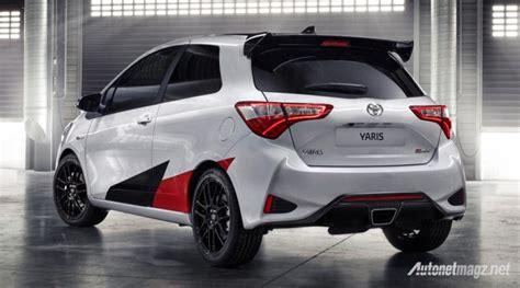 Rear View All New Yaris 2014 toyota yaris grmn 2018 rear view autonetmagz