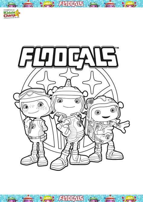 Floogals Colouring Sheet To Celebrate The Exciting Brand