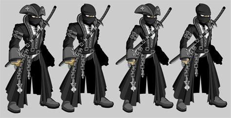 Gamis Set Jipon Premium Black in a pirate suit armor by thecarloszayas on deviantart
