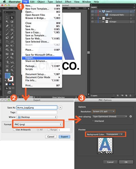 add png pattern to illustrator how to create png files of your logo in illustrator