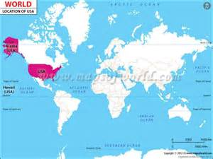 united states map location where is usa maps