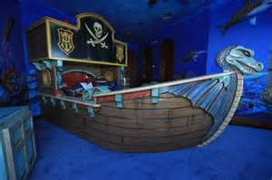 Pirate Ship Bedroom 301 moved permanently
