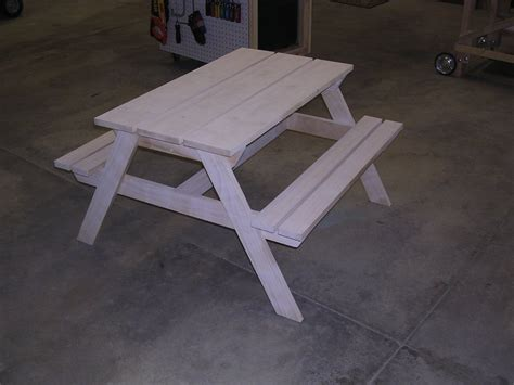 knock picnic table plans picnic table from knock wood by whitsitt