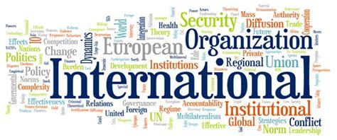 Why International Organization list of international organisation and their abbreviation