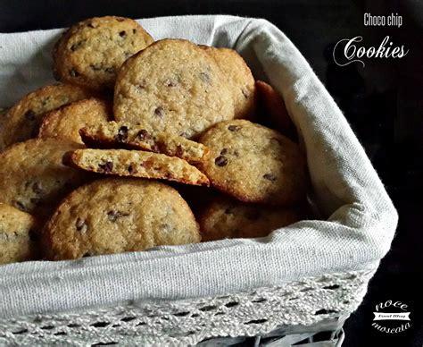 Choco Chip choco chip cookies biscotti con gocce di cioccolato