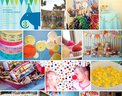 party themes classic cake creative co custom inspiration board classic carnival