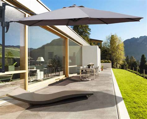 Comment Aménager Balcon 4118 by Parasol De Balcon Castorama Maison Design Apsip