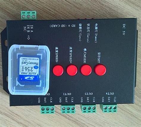 Addressable Led Dmx Controller - 4096 pixels addressable t4000 sd card rgb dmx led
