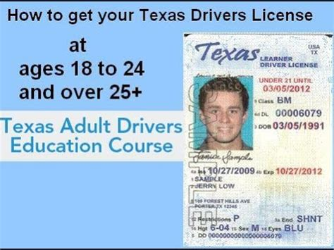 texas age for boating license discover how to get texas drivers license video at ages 18